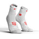 Compressport Pro Racing V3.0 Run High Smart Socks White